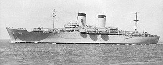 P2 transport - Image: USS General H. W. Butner APA 113
