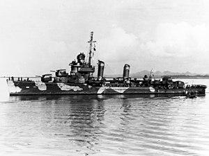 USS Meredith (DD-434) at Suva, Fiji Islands, on 23 June 1942 (NH 89418).jpg