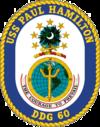 USS Paul Hamilton DDG-60 Crest.png