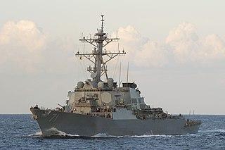 USS <i>Ross</i> (DDG-71) Arleigh Burke-class guided-missile destroyer