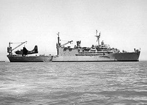 USS Salisbury Sound (AV-13) with P5M 1953.jpg