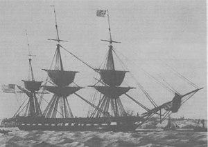 USS St. Lawrence (1848) - USS St. Lawrence