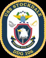 USS Stockdale COA