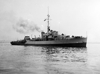 USS <i>Woonsocket</i> (PF-32) Tacoma-class patrol frigate