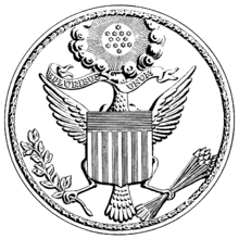 the great seal of the united states of america during the war