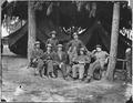 US Military Operators, in front of Petersburg, VA. Aug. 1864 - NARA - 530483.tif