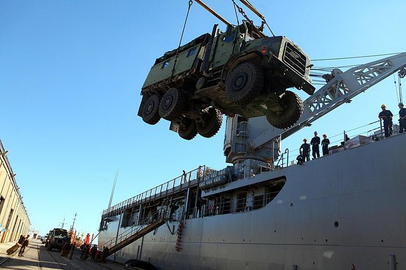 Crane Lifts On King Island Tasmania
