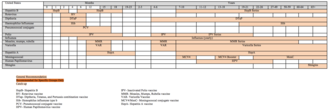 Vaccination policy - Image: US Vaccination Schedule