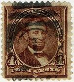 Abraham Lincoln, 4¢