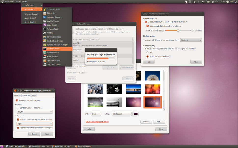 Ubuntu 10.10 preview
