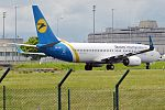 Ukraine International Airlines, UR-PSF, Boeing 737-84R (28176997730).jpg
