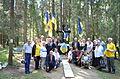 Ukrainian Delegation in Levashovo Memorial Cemetery 42.JPG