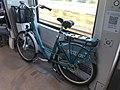 Un vélo La Station dans un TER Lyon - Ambérieu.JPG