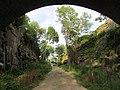 Underneath the Granite Keystone Bridge, July 2016.JPG