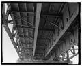 Underside of bridge floor, span 7 - Wabash River Bridge, Spanning Wabash River at U.S. Highway 40, Terre Haute, Vigo County, IN HAER IN-64-23.tif