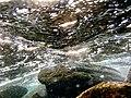 Underwater rocks near Rushikonda beach, Visakhapatnam (1).jpg
