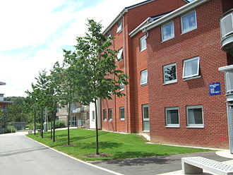 University of Surrey - Part of the new development of student accommodation at Manor Park