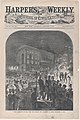 Union Meetings in the Open Air Outside the Academy of Music, December 19, 1859 (Harper's Weekly, Vol. III) MET DP875127.jpg