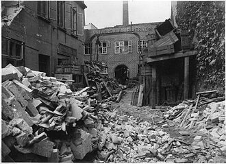 5 Kolonne - Aftermath of sabotage action against Universalfabrikkerne, Aarhus