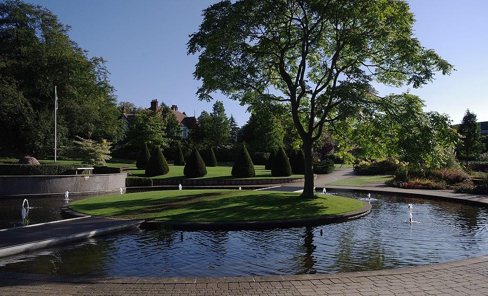 University Park MMB W2 Millennium Garden