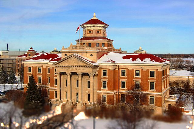 University of Manitoba By Ahmadexp (Own work) [CC-BY-SA-3.0 (https://creativecommons.org/licenses/by-sa/3.0)], via Wikimedia Commons