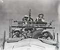Unknown World War 2 soldiers on vehicle (4961326092).jpg