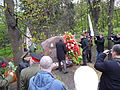 Unveiling of the monument to the nurses. Memorial park 09.JPG