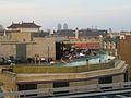 Upper floor swimming pool of B-Hotel, Barcelona.jpg