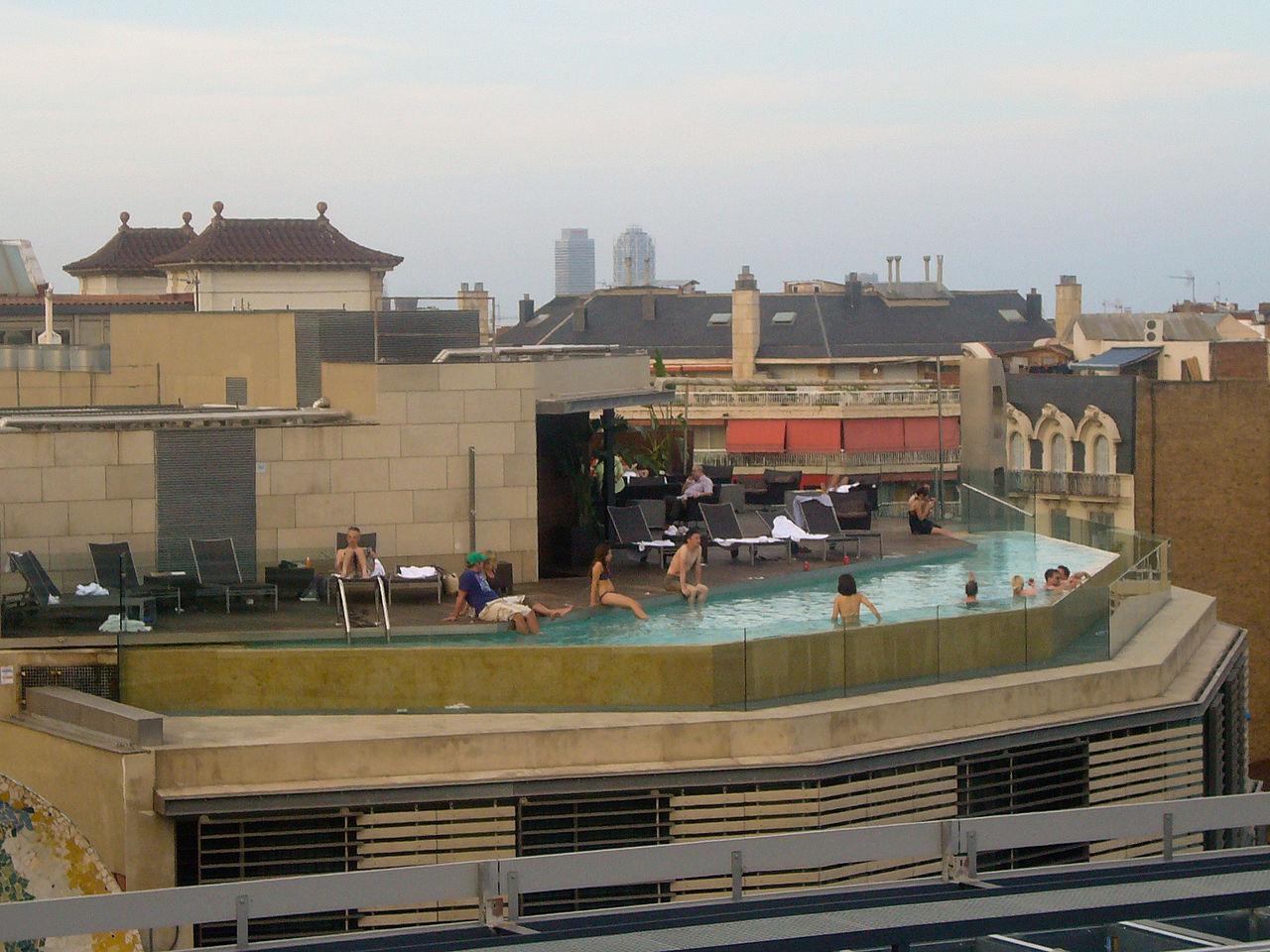 File Upper Floor Swimming Pool Of B Hotel Wikimedia Commons