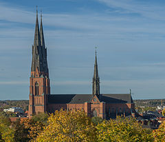 Uppsala Cathedral October 2012.jpg