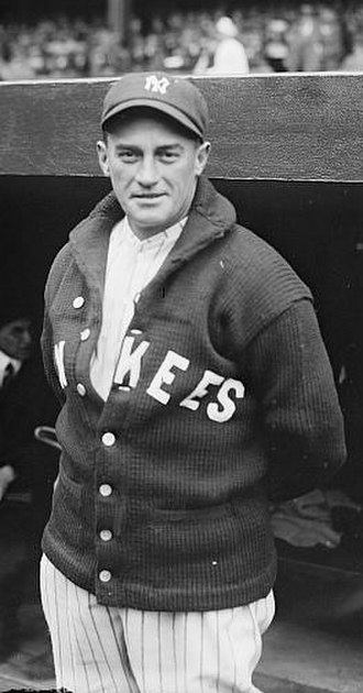 1926 World Series - Yankees pitcher Urban Shocker