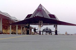 Relaxed stability - The Lockheed F-117 Nighthawk is not an inherently stable design.