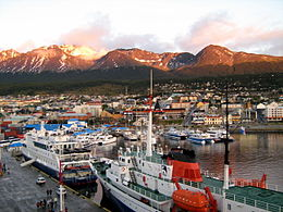 De haven fan Ushuaia