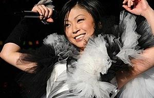 Utada Hikaru - Utada Hikaru performing in 2006