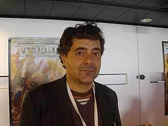 Pincio at the science fiction festival Utopiales, 2011 Utos050-Tommaso Pincio.jpg