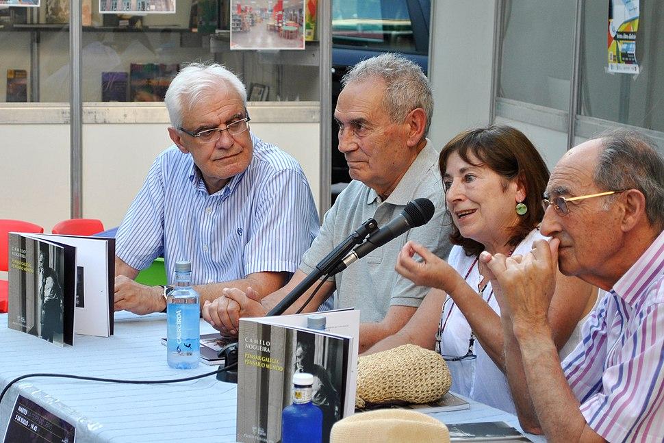 Víctor Fernández Freixanes, Camilo Nogueira Román, Ana Gandón Menduiña e Fernando Martínez Randufe
