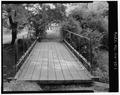 VIEW ACROSS DECK FROM SOUTH END - Oak Knoll Park Bridge, Oak Knoll Park, Massillon, Stark County, OH HAER OHIO,76-MASS,1-1.tif