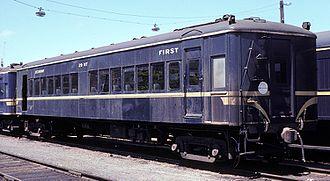 Diesel Electric railmotor (VR) - Motor Trailer 29 in 1982