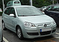 VW Polo IV 1.4 TDI BlueMotion Facelift front 20100829.jpg