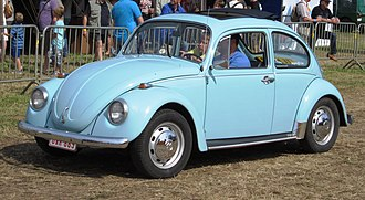 Audi Brussels - More than 1,000,000 Volkswagen Beetles emerged from the Belgian plant between 1954 and 1975