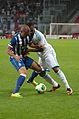 Valais Cup 2013 - OM-FC Porto 13-07-2013 - Maicon et Jordan Ayew 2.jpg