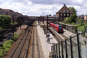 Valby station - Image: Valby Station