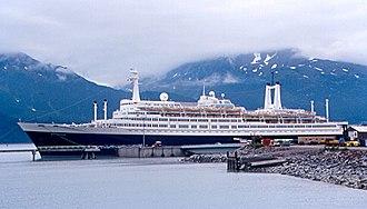 SS Rotterdam - Rotterdam as a cruise ship.