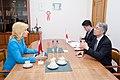 Valsts kancelejas direktore Elita Dreimane tiekas ar Japānas vēstnieku Latvijā Tošijuki Tagu (8800110960).jpg