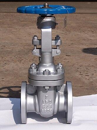 Gate valve - Image: Valve