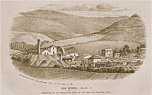 Van, Llanidloes - Van Lead Mines