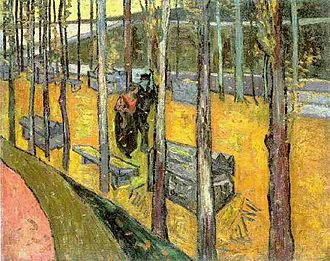 Les Alyscamps - Image: Van gogh alyscamps other