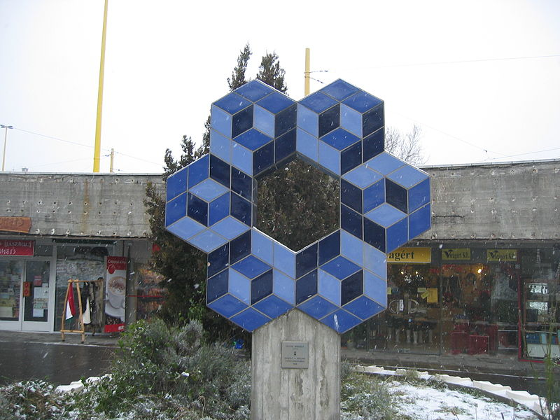 Vasarely Budapest Déli pályaudvar