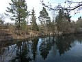 Vattenfyllt kalkbrott (Raä-nr Sala stad 102-1) 4889.jpg