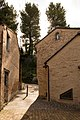 Veduta della parte alta del borgo, Villa Ficana, Macerata, Italia.jpg